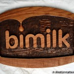 BiMilk logo - rezba (kopanicarstvo Makedonija)