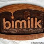BiMilk logo - rezba (kopanicarstvo Makedonija)