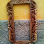 Big mirror frame (wood carved mirror) - Wood Carving Macedonia
